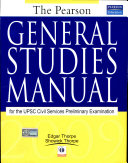 The Pearson General Studies Manual 2009, 1/e