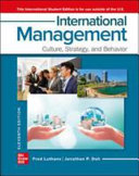 Cover of International Management?