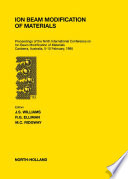Ion Beam Modification of Materials Book