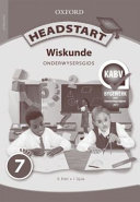 Books - Headstart Wiskunde Graad 7 Onderwysersgids | ISBN 9780199054817