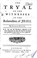 The Tryal of the Witnesses ... By T. Sherlock. The sixth edition