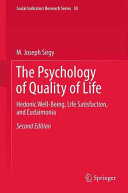 The Psychology of Quality of Life Book