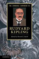 The Cambridge Companion to Rudyard Kipling