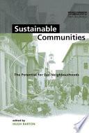 Sustainable Communities Book