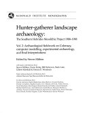 Hunter-gatherer Landscape Archaeology