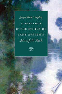 Constancy and the Ethics of Jane Austen's 'Mansfield Park'