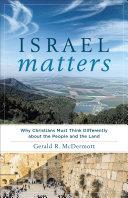 Israel Matters [Pdf/ePub] eBook