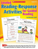 Leveled Reading Response Activities for Guided Reading Book