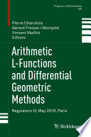 Arithmetic L Functions And Differential Geometric Methods