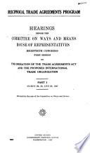 Reciprocal Trade Agreements Program