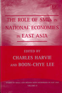 The Role of SMEs in National Economies in East Asia