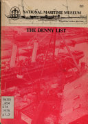 The Denny List  Ship numbers 769 1273 Book PDF