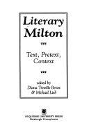 Literary Milton