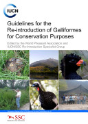 Pdf Guidelines for the re-introduction of Galliformes for conservation purposes