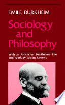 Sociology And Philosophy Book PDF