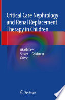 Critical Care Nephrology and Renal Replacement Therapy in Children