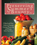 Preserving Summer s Bounty