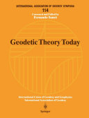 Geodetic Theory Today