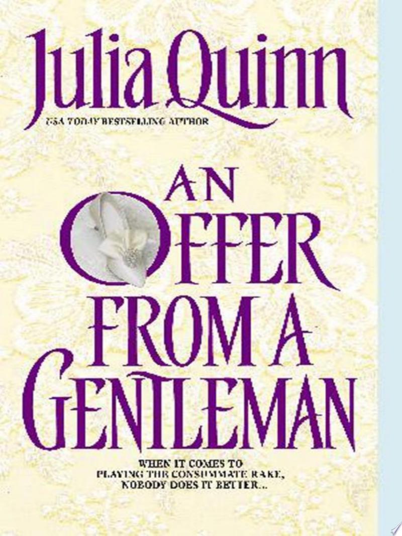 An Offer From a Gentleman banner backdrop