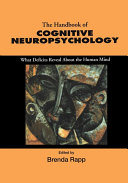Handbook of Cognitive Neuropsychology