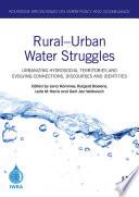 Rural   Urban Water Struggles