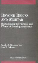 Beyond Bricks and Mortar