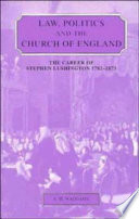 Law Politics And The Church Of England