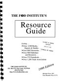 The Food Institute s Resource Guide