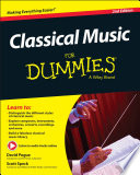 """Classical Music For Dummies"" by David Pogue, Scott Speck"