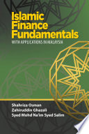 Islamic Finance Fundamentals With Applications In Malaysia Uum Press