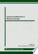 Advanced Materials in Machine Design