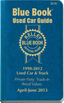 Kelley Blue Book Used Car Guide 2013