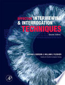Effective Interviewing and Interrogation Techniques Book