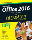 Office 2016 All in One For Dummies