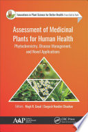 Assessment of Medicinal Plants for Human Health