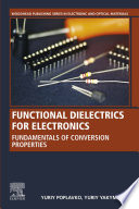 Functional Dielectrics for Electronics Book