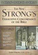 New Strong s Exhaustive Concordance Book
