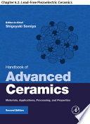 Handbook of Advanced Ceramics Book
