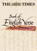 The Times Book Of English Verse
