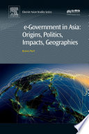 E Government In Asia Origins Politics Impacts Geographies