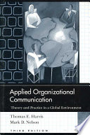 Applied Organizational Communication Book