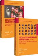 Silicon Nanomaterials Sourcebook Book