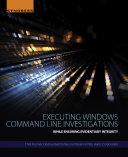 Executing Windows Command Line Investigations