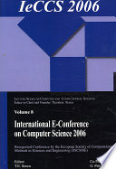 International e Conference of Computer Science 2006 Book