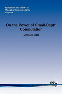 On the Power of Small Depth Computation