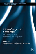 Pdf Climate Change and Human Rights Telecharger