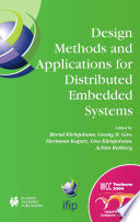 Design Methods And Applications For Distributed Embedded Systems Book PDF