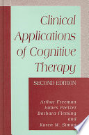 Clinical Applications of Cognitive Therapy