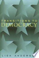 Transitions to Democracy Pdf/ePub eBook