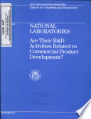 National Laboratories: are Their R&D Activities Related to Commercial Product Development?.